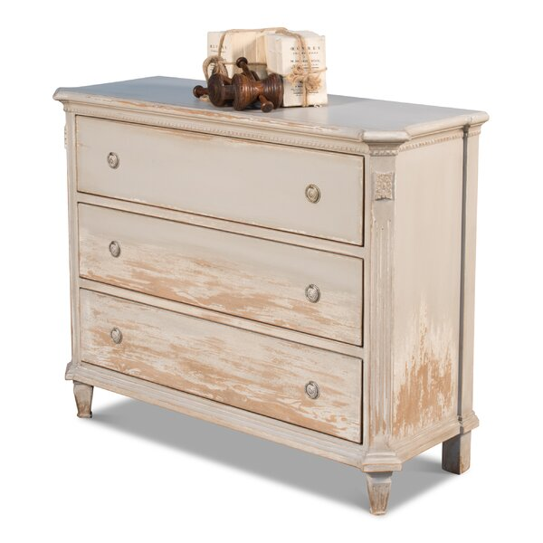 Addie 3 Drawers Standard Dresser by One Allium Way