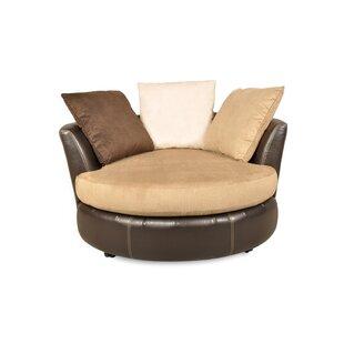 Leake Swivel Chair and A Half