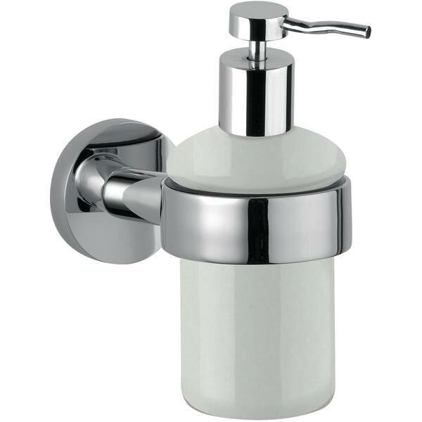 Sonny Wall Mounted Ceramic Soap & Lotion Dispenser by Orren Ellis