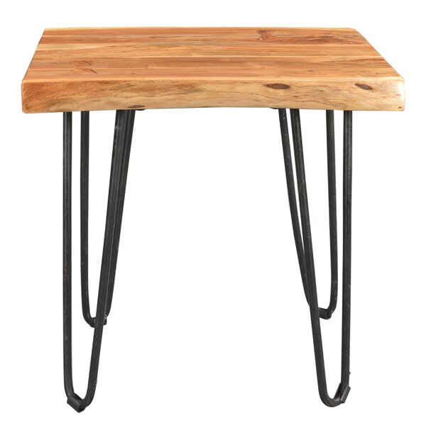 Kourtney End Table by Union Rustic