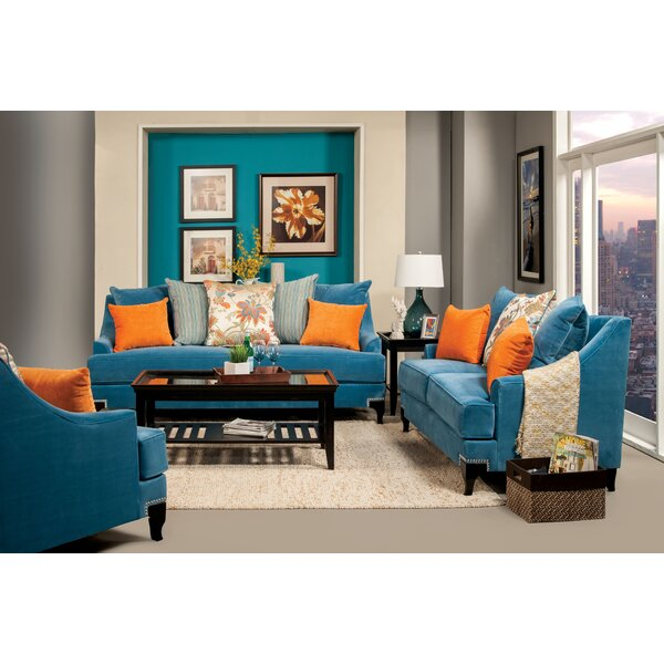 Back East Configurable Living Room Set by Darby Home Co