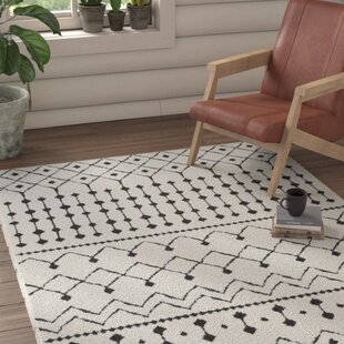 Looking for Rhodes Black/Charcoal Area Rug ByUnion Rustic