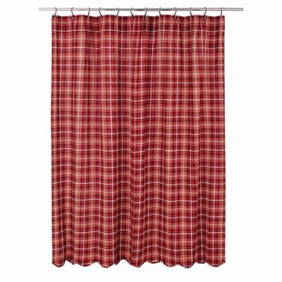 Where buy  Burley 100% Cotton Shower Curtain By August Grove