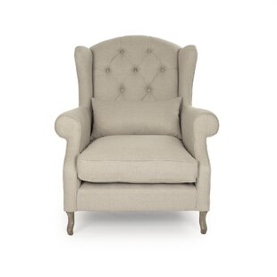 Dowty Wingback Chair by Canora Grey