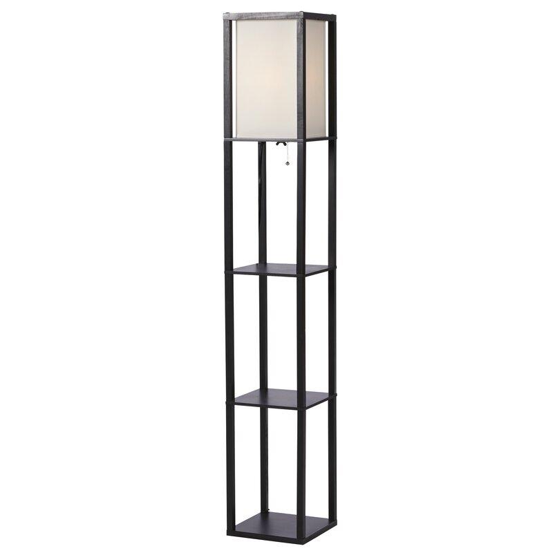 Zipcode design stefanie 628quot column floor lamp reviews for Floor lamp babies r us