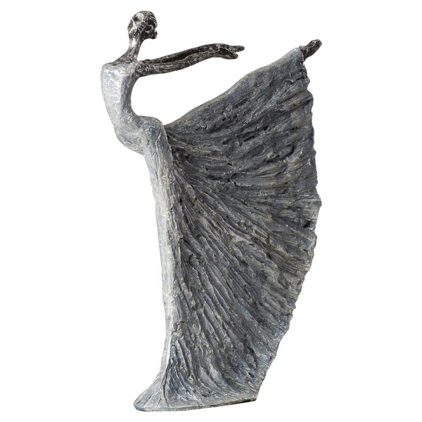 Weather Resistant and Lightweight Dancer Figurine by House of Hampton