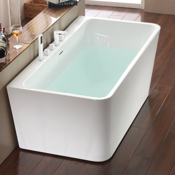 Vermont Freestanding Soaking Bathtub by Jade Bath