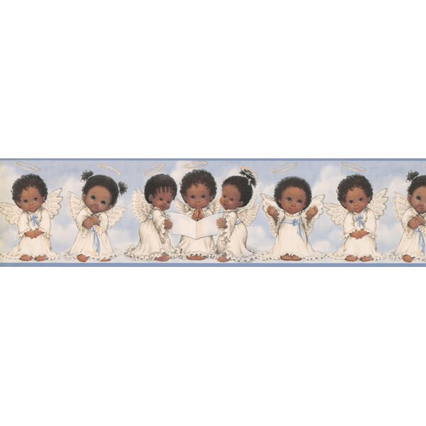 Chiana Baby Angels in Dress Wall Border by Red Barrel Studio