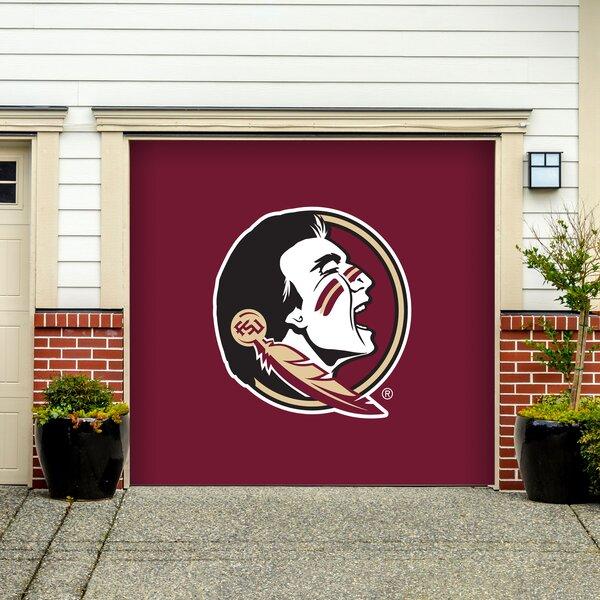 NCAA Garage Door Mural by Victory Corps