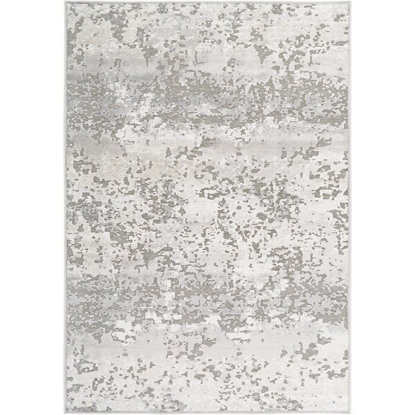 Infinity Dark Gray Area Rug by Nicole Miller