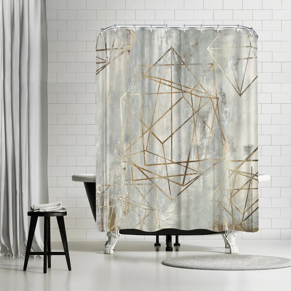PI Creative Art Elements Shower Curtain by East Urban Home
