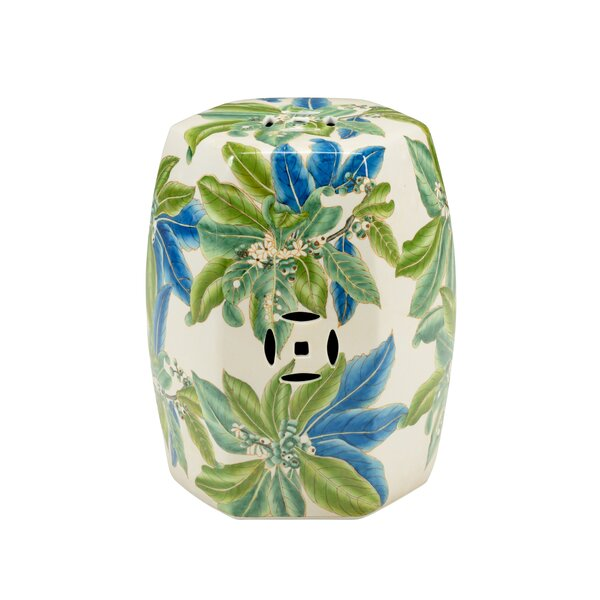 Floral Garden Stool by Chelsea House