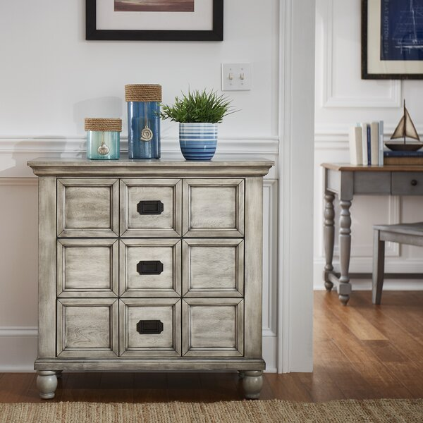 Debbi Apothecary 3 Drawer Accent Chest by Beachcrest Home Beachcrest Home