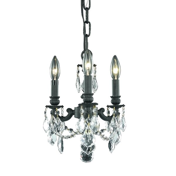 Downes 3-Light Candle Style Chandelier by Astoria Grand