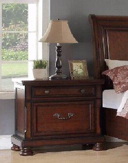 Carnell 2 Drawer Nightstand by A&J Homes Studio