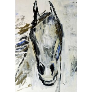 Picasso's Horse I Painting Print on Wrapped Canvas by Laurel Foundry Modern Farmhouse