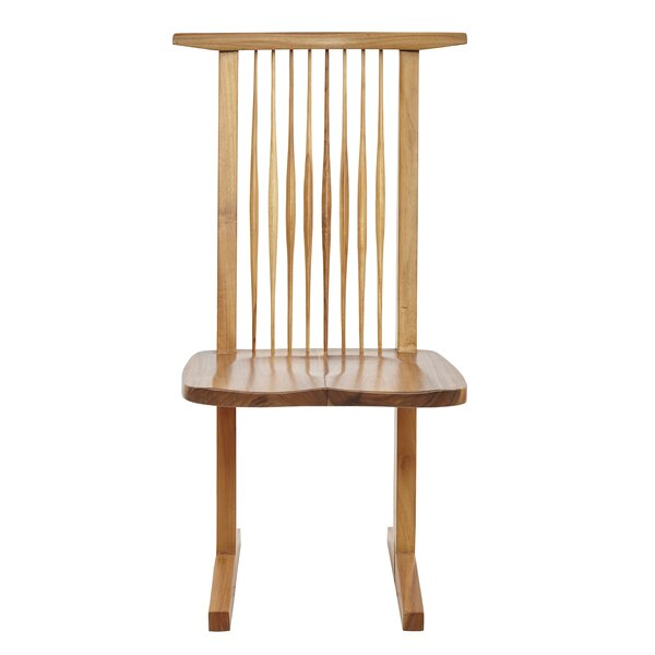 Kyoto Solid Wood Dining Chair (Set of 2) by Hokku Designs