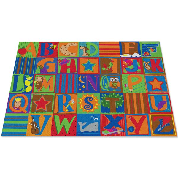 Letter Seating Kids Rug by Kid Carpet