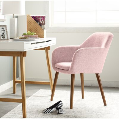 Elle Decor Armchair Blush Chairs