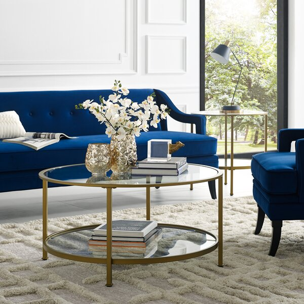 Legette 2 Piece Coffee Table Set by Everly Quinn Everly Quinn