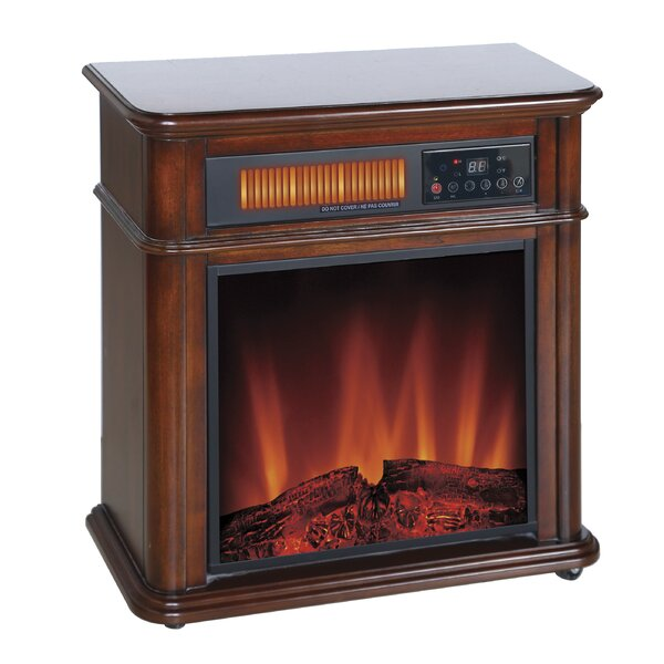 Devonshire Infrared Quartz Mobile Electric Fireplace by DuraHeat