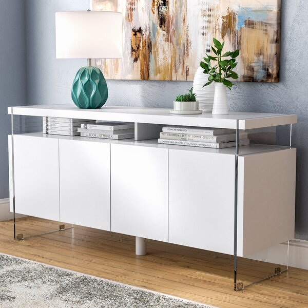 Kieth 4 Door Credenza by Orren Ellis