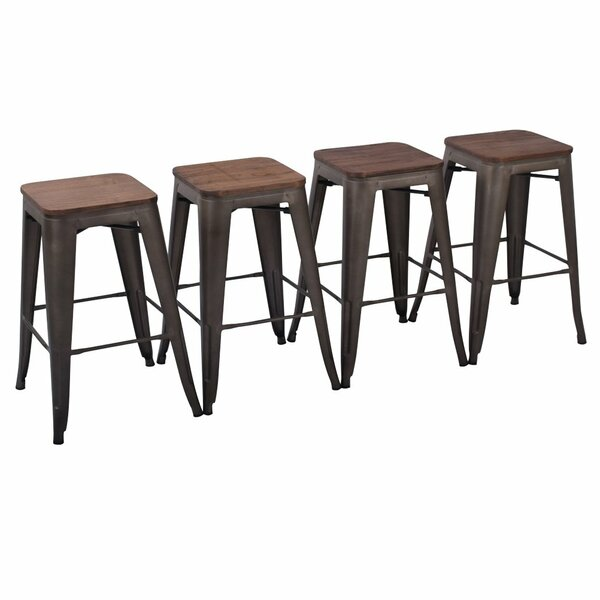 Sensational Great Price Davisson 30 Bar Stools Set Of 4 By Hashtag Home Gmtry Best Dining Table And Chair Ideas Images Gmtryco