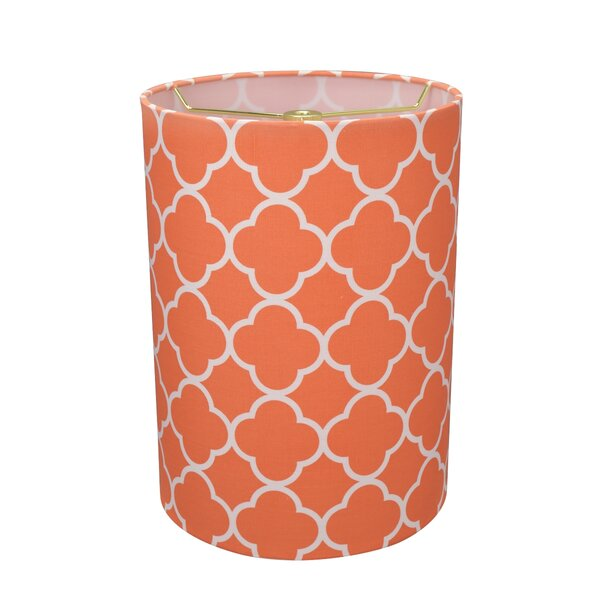 8 Linen Drum Lamp Shade by House of Hampton