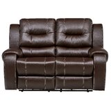 Daigre Reclining 65 Pillow top Arm Loveseat by Red Barrel Studio®