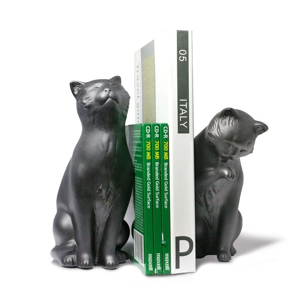 Mears Cat Bookends by Winston Porter