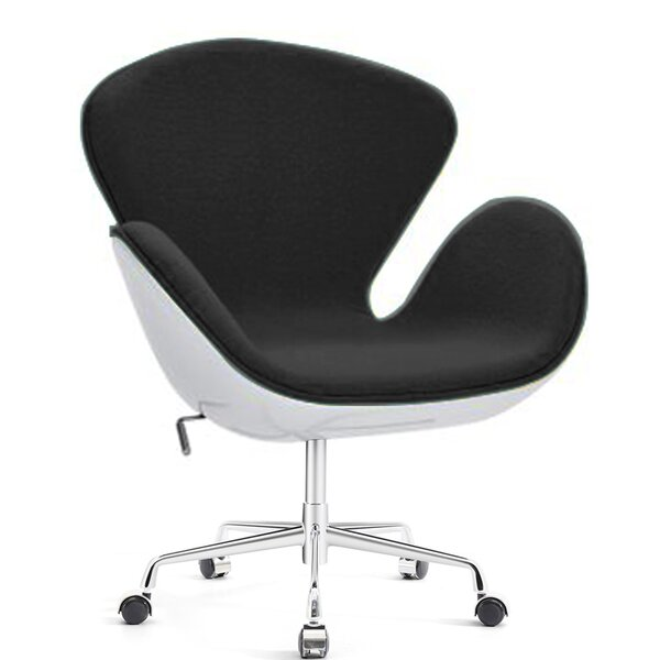 Joann Swivel Lounge Chair by Orren Ellis