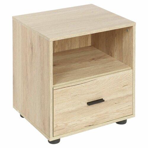 Nachttisch ClearAmbient Farbe: Beige | Schlafzimmer > Nachttische | Beige | Holz | ClearAmbient