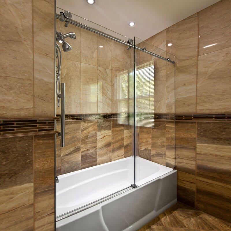 Lesscare Ultra C 60 X 62 Single Sliding Bath Tub Door Reviews