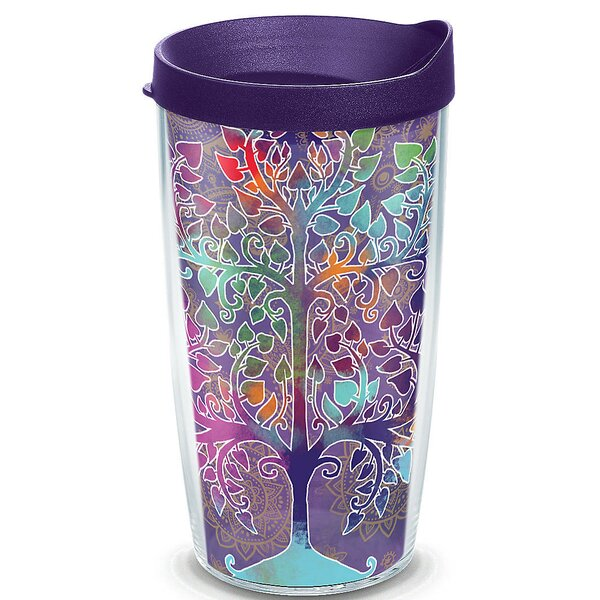 On Trend Tree of Life Plastic Travel Tumbler by Tervis Tumbler