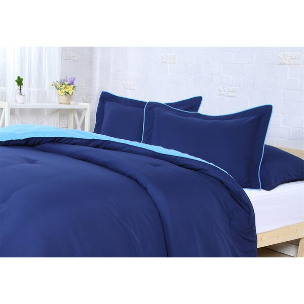 Reversible Comforter Set by Affluence Home Fashions
