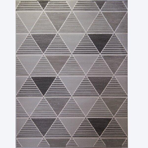 Sanderlin Gray Area Rug by Wrought Studio