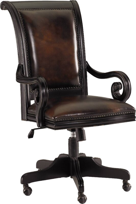 Telluride Leather Bankers Chair By Hooker Furniture