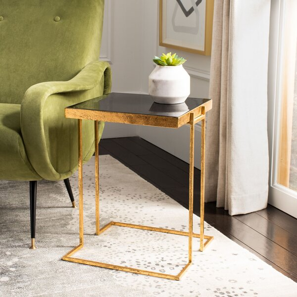 Harlingen End Table by Everly Quinn