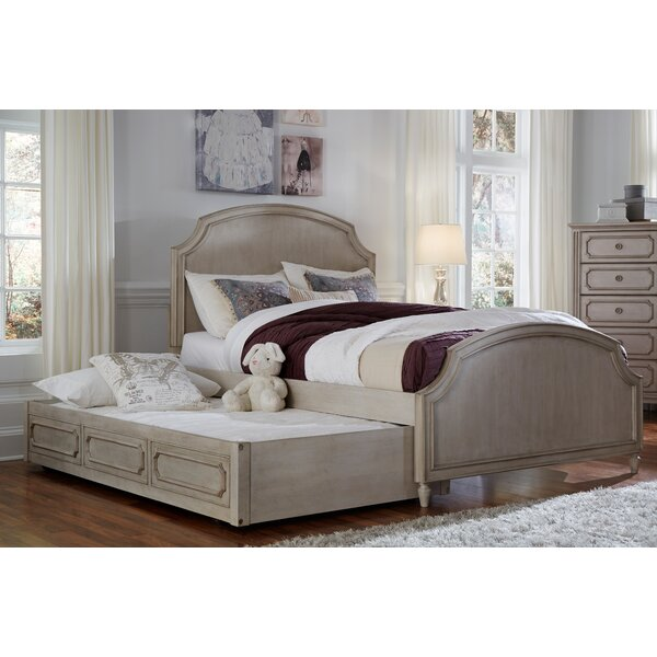 Alaina Arched Platform Bed With Drawers By One Allium Way by One Allium Way Great price