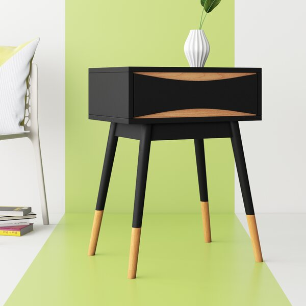 Gilmour End Table with Storage by Hashtag Home