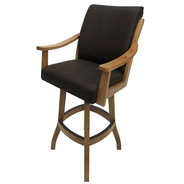 Cayucos Swivel Bar Stool By Winston Porter