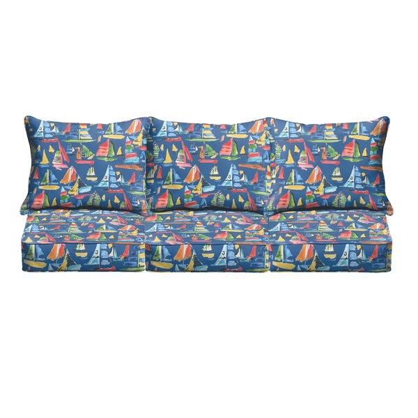 Wallon Pillow and Cushion 6 Piece Sofa Cushion by Longshore Tides