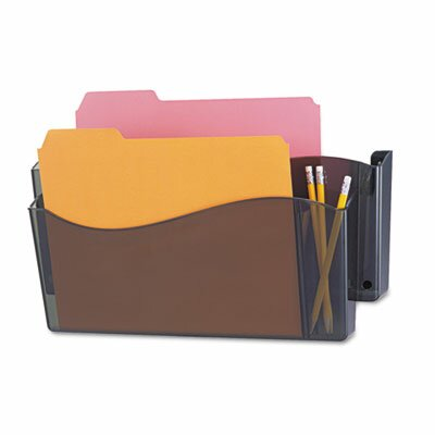 Unbreakable 4-In-1 Wall File, Two Pocket, Plastic by Universal®