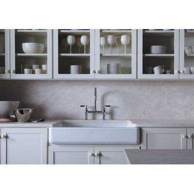 Kitchen Sink Undermount Faucet White 1041 Product Image