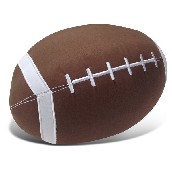 Football Decor Throw Pillow by Beco Home
