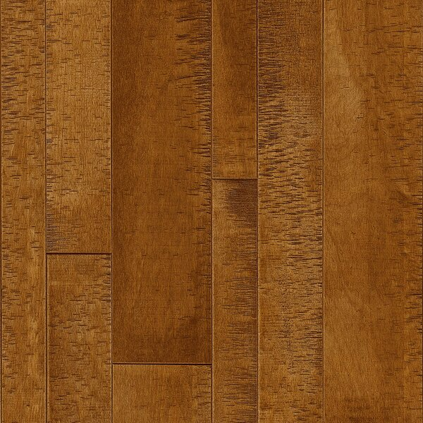 Random Width Solid Maple Hardwood Flooring in Earthen Copper by Armstrong Flooring
