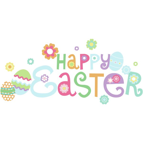 Happy Easter Wall Decal by WallPops!