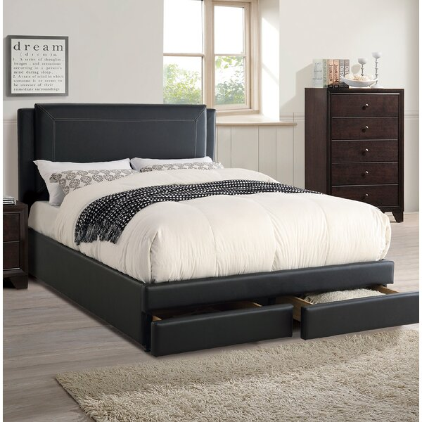 Bachani Upholstered Storage Platform Bed by Ebern Designs