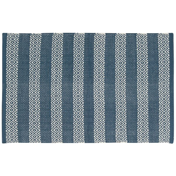 Arapaho Blue Area Rug by Bungalow Rose