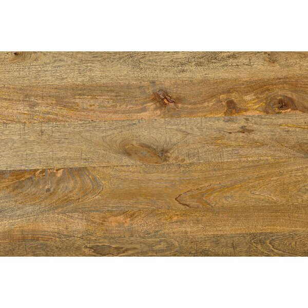 Walburn Solid Wood Dining Table by Millwood Pines